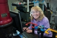 Lynne Ecker works on materials in radiation environments at the National Synchrotron Light Source (NSLS) and NSLS-II at the U.S. Department of Energy's Brookhaven National Laboratory.