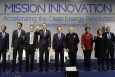 World leaders launch Mission Innovation at the United Nations Climate Change Conference 2015 (COP21) in Paris-Le Bourget, France, November 30, 2015.