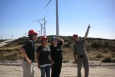 START team members conduct a wind site assessment on the Campo Indian Reservation.