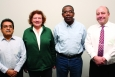 (Left to right) Ed Trujillo, Terri Likens, Leon Baker and Richard Burroughs are the newest members of the Oak Ridge Site Specific Advisory Board.