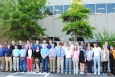 This year's Savannah River Remediation summer interns have arrived. The 42 interns include (front row; left to right) Casey Rhodes, Logan Tihey, Jonathan Townsend, A'jay Jones, Victoria Truelove, Ximena Vasquez, Christopher York, Brandon Byers, Tu Nguyen, Tristen Fields, Zoe Wesley, Briana Young, Meredith Williamson, Robert Morgan, Jennifer Herbert, and Keaton Thurmond; and (back row; left to right) Eric Patterson, Jake Mellon, Tom Hampton, Lee Girardeau, Eddie Dernar, Michael Harris, Paul Jackson, Greg Head, Vondray Sanford, DJ Roberts, Christopher Turner, Hunter Norris, Brock Metzger, Constance Kinney, Taylor Schneider, and Michael Jaffe. Brad Lloyd, Curtis Wilson, Raven Woods, Belinda Owusu, Alton Turner, Jabril McKevie, Stuart Ralston, Austin Long, John Kolbeck, and David Webb are not pictured.