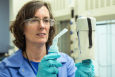 Linda Lewis takes a materials science approach to forensics research at Oak Ridge National Laboratory. | Photo courtesy of Oak Ridge National Laboratory.