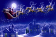 Tracking Santa With Our Eyes in the Sky