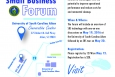 Small Business Forum is Set for May 19-20, 2016