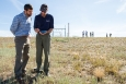 START Site Visit Examines Viability of Tribal Community Solar Project