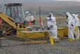 TerranearPMC at work on anomaly sampling in the 300 Area of Hanford.