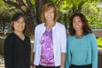 (From left) Cynthia Nitta (Lawrence Livermore), Wendy Baca (Los Alamos), and Sheryl Hingorani (Sandia) helm a team that is developing plans and options for future strategy.