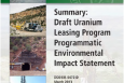 DOE Issues Record of Decision for the Uranium Leasing Program