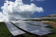 Renewable energy technologies, such as the 5 MW Estate Donor Solar Project located on St. Thomas, have helped the U.S. Virgin Islands reduce its fossil fuel use by 20% over the last five years. | Photo by Jennifer DeCesaro