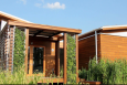 "The University of Maryland's ""WaterShed"" house won first prize in the 2011 Solar Decathlon architecture contest. 