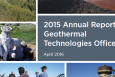 2014 Annual Report, Geothermal Technologies Office