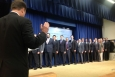 The Presidential Innovation Fellows being sworn in today.   Photo courtesy of the Office of Science and Technology Policy.