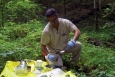 Environmental sampling helps identify which reservation locations are not contaminated.