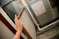 Change your furnace filter to help keep allergies at bay and keep your furnace and air conditioner running efficiently.   Photo courtesy of ©iStockphoto.com/JaniceRichard.