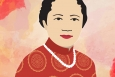 """Nuclear Physicist Chien-Shiung Wu is our third woman in STEM #ThrowbackThursday for 2016.   Illustration by <a href=""""/node/1332956/"""">Carly Wilkins, Energy Department</a>."""