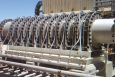 Black Pine Engineering's pilot compressor in California. The team won the Clean Energy Trust Clean Energy Challenge, securing its spot as a regional finalist in the National Clean Energy Business Plan Competition.   Photo courtesy of Black Pine Engineering