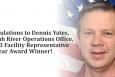 John C. Barnes of Savannah River Operations named 2012 Facility Representative of the Year