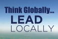 """This year's theme for Energy Action Month is """"Think Globally ... Lead Locally.""""   Image courtesy of the Energy Department."""