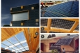 These examples of building integrated photovoltaic panels are like solar eye candy. All images from U.S. Department of Energy Solar Decathlon