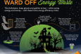 "This Halloween, keep ghosts and goblins at bay -- while saving energy and money -- with these home energy efficiency tricks. | Infographic by <a href=""/node/379579"">Sarah Gerrity</a>, Energy Department."