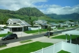 Set in the Waianae Valley of Oahu, Kaupuni Village is the first net-zero energy affordable housing community in Hawaii.| Photo by Ryan Siphers / Group 70, NREL 20155