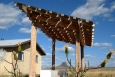 Solar electric array on an off-grid Najavo home.