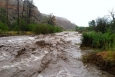 Unusually heavy rain in early September caused flash flooding in canyons surrounding Los Alamos.