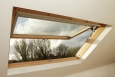 A skylight can provide lighting, ventilation, views, and sometimes emergency egress. | Photo courtesy of ©iStockphoto/PaulaConnelly