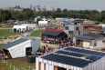 For the past 10 years, the Solar Decathlon has educated consumers about affordable clean energy products that save energy and money, and provided hands-on training for jobs in the clean energy economy. | Photo courtesy of Stefano Paltera, U.S. Department of Energy Solar Decathlon.