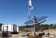 The EERE-funded Solar Thermochemical Advanced Reactor System converts natural gas and sunlight into a more energy-rich fuel called syngas, which power plants can burn to make electricity.