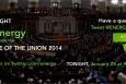 """Join Energy.gov tonight as we livetweet about all the major energy points in the President's State of the Union address.   Graphic by <a href=""""/node/379579"""">Sarah Gerrity</a>, Energy Department."""