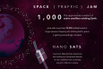 """With around one thousand active satellites and the tens of thousands of pieces of space junk orbiting Earth, space is getting exceedingly crowded. Researchers at Lawrence Livermore National Lab are working on a system that could help prevent collisions in space. 