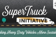 """Our latest infographic explains how heavy-duty trucks are more getting more sustainable thanks to the Energy Department's SuperTruck initiative. 