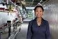 Cindy Joe works as a particle accelerator operator at Fermi National Accelerator Laboratory (Fermilab). She earned a bachelor's degree in physics from Reed College.