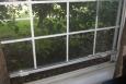 The original windows in Andrea's home.   Photo courtesy of Andrea Spikes.