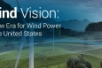 The Wind Vision Report describes potential wind industry scenarios for 2020, 2030, and 2050.