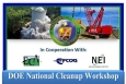 DOE National Cleanup Workshop