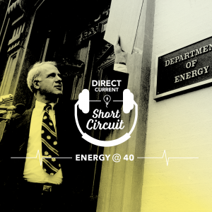 Podcast episode cover art for Direct Current Episode: Energy @ 40