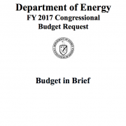 Budget & Performance   Department of Energy