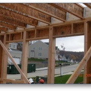 Image of house framing.
