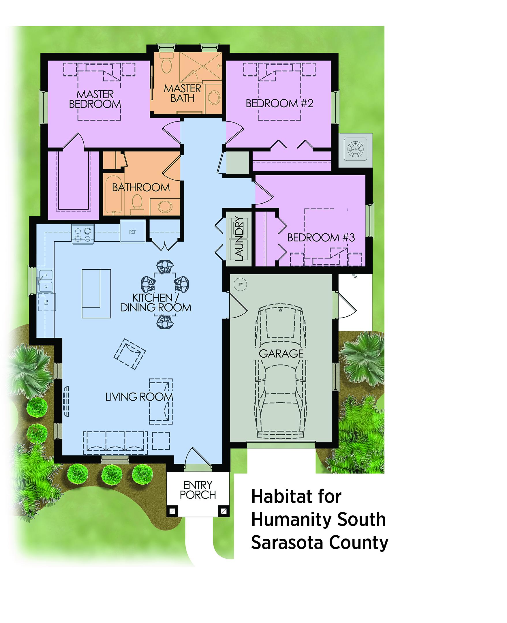 Habitat for humanity floor plans 3 bedroom gurus floor for Habitat for humanity home plans
